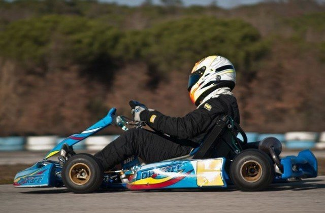 Una pista di Go Kart a Budoni