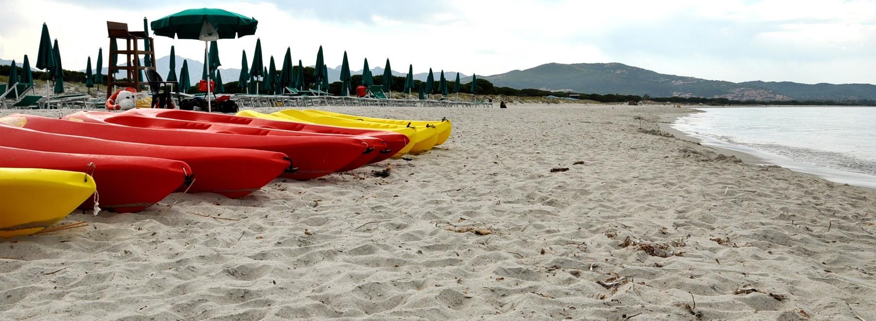 La Spiaggia riservata del Villaggio Baia dei Pini Villaggio  Sardegna